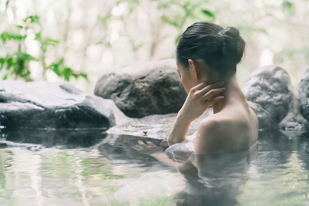 How to bathe in Japanese Onsen